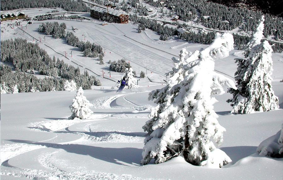 Esquí a Port del Comte i Tuixent